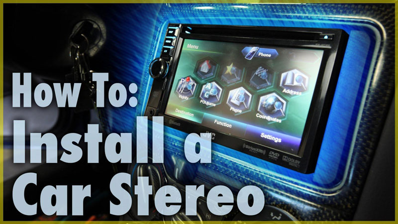 5 Simple Steps For Installing A Car Stereo - Mr Vehicle