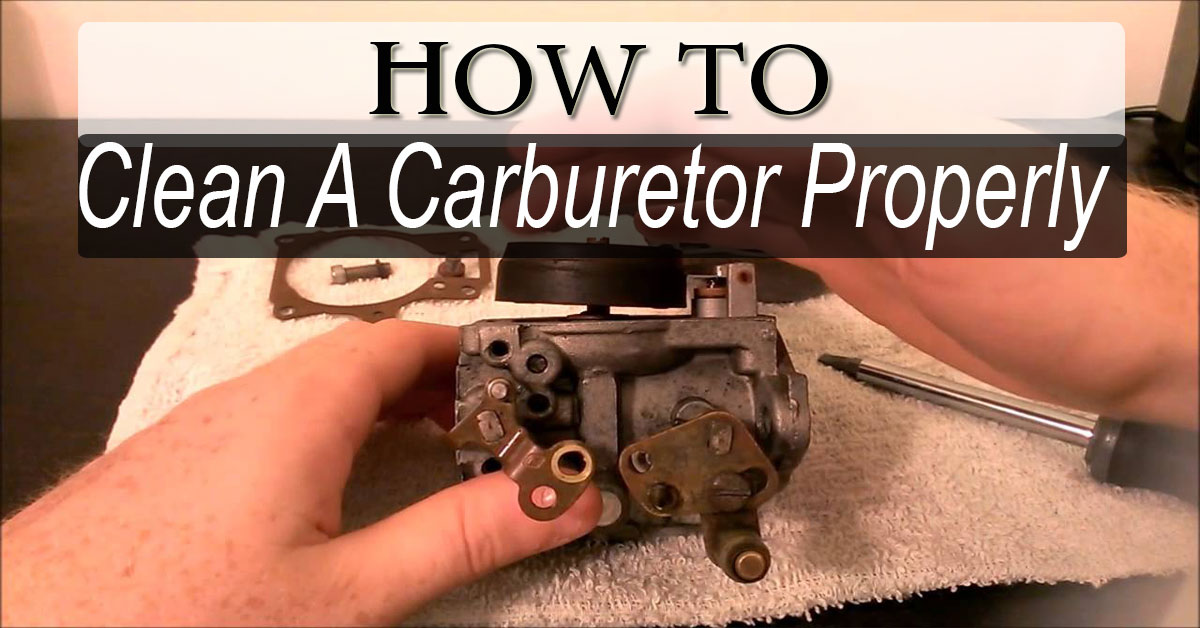 what to use to clean a carburetor