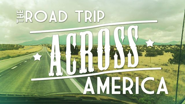 How To Road Trip Across America With $60 Per Day - Mr Vehicle Road Trip Route Across America on
