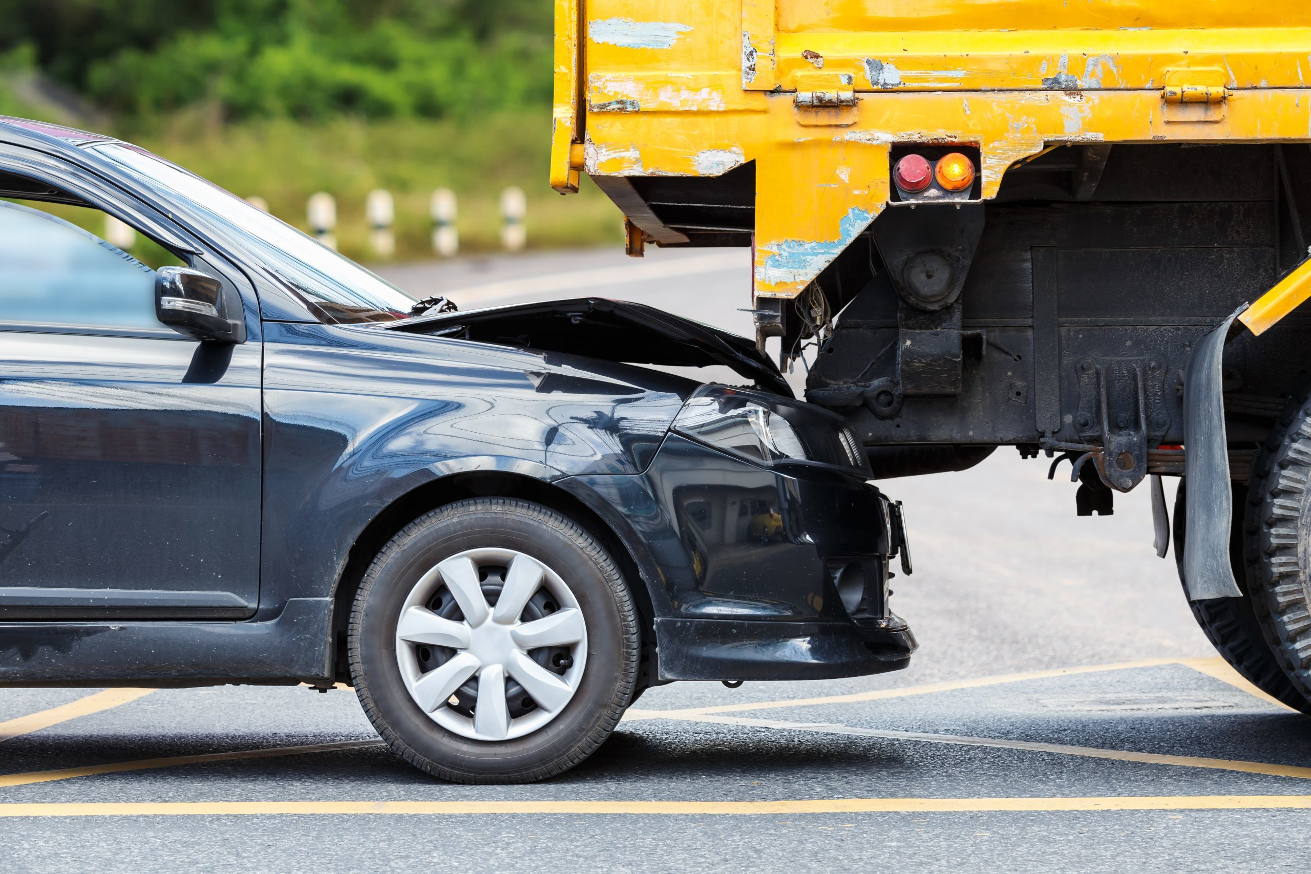 Pursuing Damages After Getting Into An Accident With A Truck
